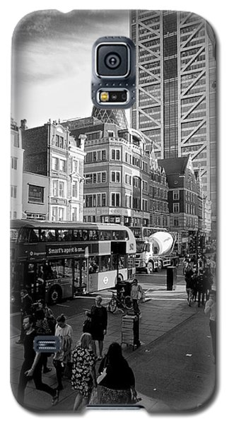 Liverpool Street  Galaxy S5 Case by Gary Bridger