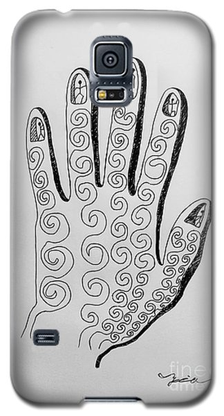 Lives Between The Fingertips Galaxy S5 Case