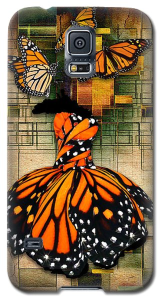 Galaxy S5 Case featuring the mixed media Living A Life With No Boundaries by Marvin Blaine