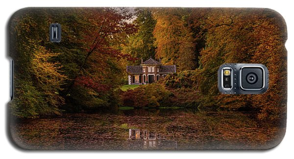 Living Between Autumn Colors Galaxy S5 Case