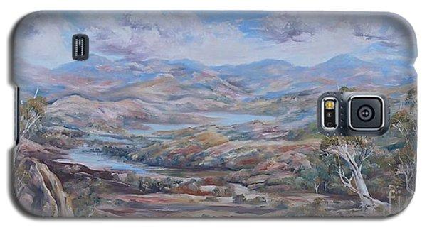 Living Desert Broken Hill Galaxy S5 Case