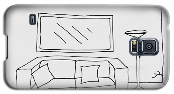 Living Room 001 Galaxy S5 Case