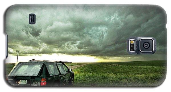 Living Saskatchewan Sky Galaxy S5 Case by Ryan Crouse