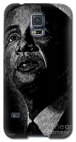 Barack Obama Galaxy S5 Case - Living The Dream by Maria Arango
