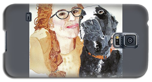 Livvy And Amos Galaxy S5 Case by Sandy McIntire
