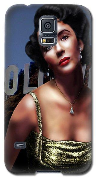 Liz Taylor Galaxy S5 Case
