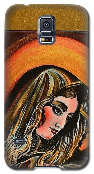 lLady of sorrows Galaxy S5 Case by Sandro Ramani