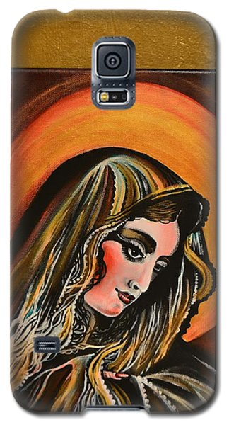 lLady of sorrows Galaxy S5 Case by Sandro Ramani