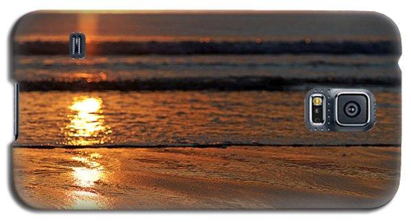 Llangennith Beach Sand Textures Galaxy S5 Case