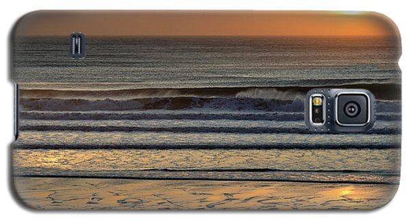 Llangennith Gold Reflections Galaxy S5 Case