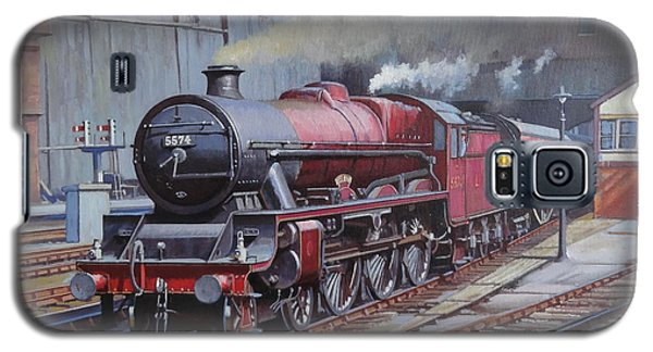 Galaxy S5 Case featuring the painting Lms Jubilee At New Street. by Mike  Jeffries