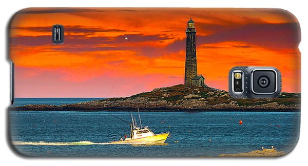 Lobster Boat Cape Cod Galaxy S5 Case