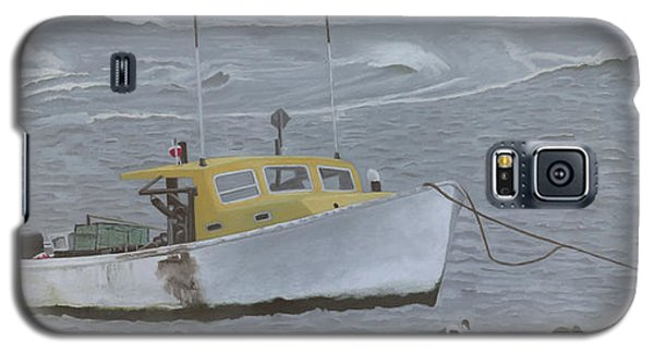 Lobster Boat In Kettle Cove Galaxy S5 Case