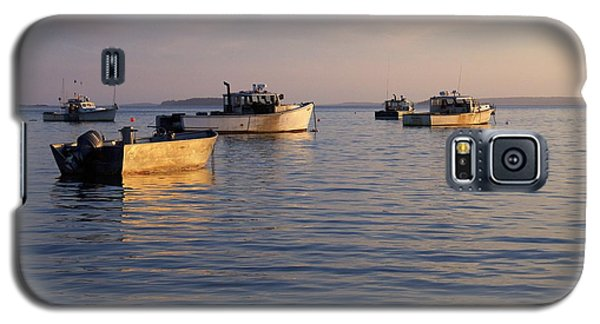 Lobster Boats Off Harpswell Maine Galaxy S5 Case by Colleen Williams
