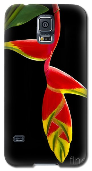 Galaxy S5 Case featuring the painting Lobster Claw by Rand Herron