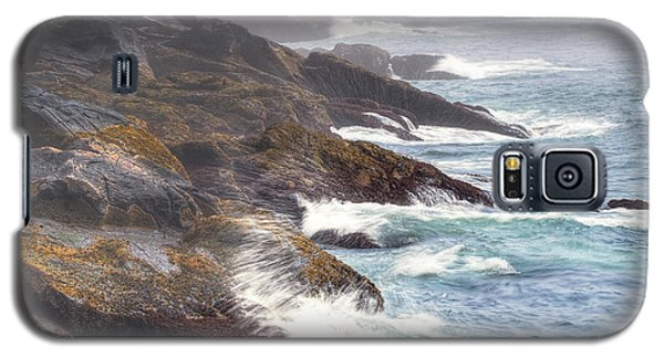 Galaxy S5 Case featuring the photograph Lobster Cove by Tom Cameron