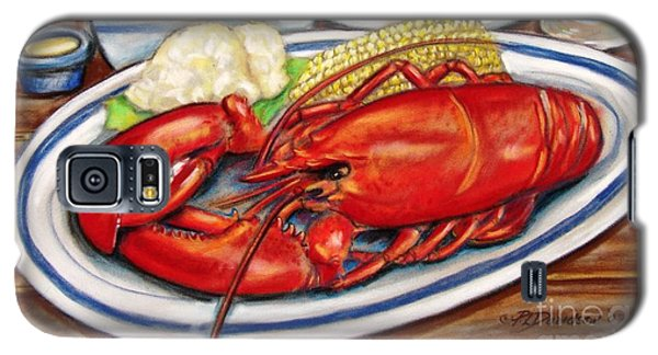 Lobster Dinner Galaxy S5 Case by Patricia L Davidson