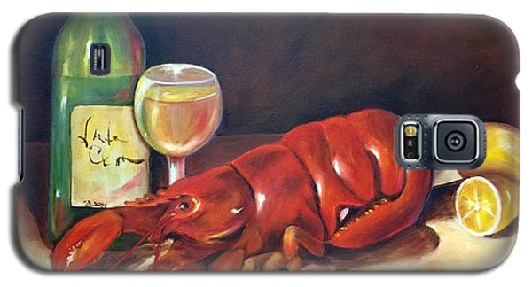 Galaxy S5 Case featuring the painting Lobster Fest  by Susan Dehlinger