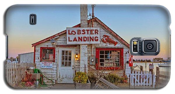Lobster Landing Sunset Galaxy S5 Case by Edward Fielding