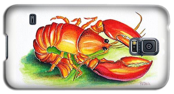 Lobster Galaxy S5 Case by Patricia Piffath