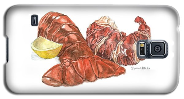 Lobster Tail And Meat Galaxy S5 Case