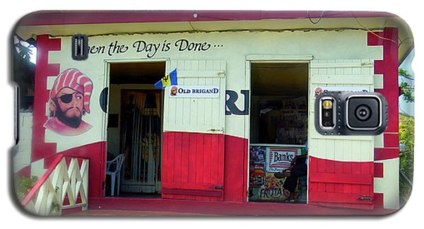 Galaxy S5 Case featuring the photograph Local Rum Shop, Barbados by Kurt Van Wagner