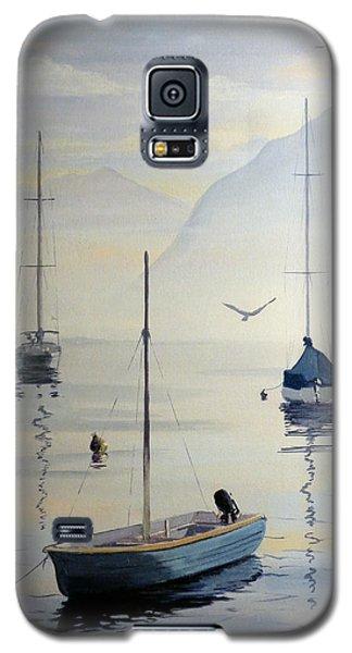 Locarno Boats In February Galaxy S5 Case