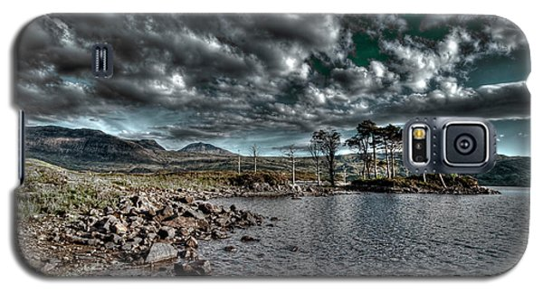 Galaxy S5 Case featuring the photograph Loch In The Scottish Highland by Gabor Pozsgai