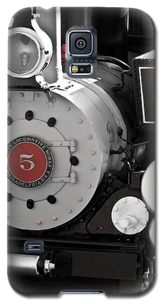 Locomotive Number Five Galaxy S5 Case