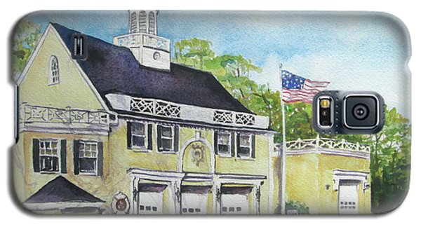 Locust Valley Firehouse Galaxy S5 Case by Susan Herbst