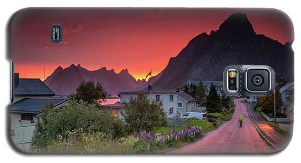 Lofoten Nightlife  Galaxy S5 Case
