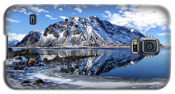 Lofoten Winter Scene Galaxy S5 Case