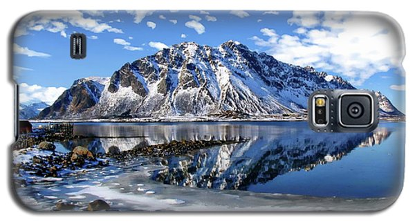 Lofoten Winter Scene Galaxy S5 Case