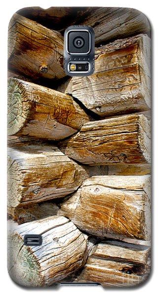 Log Cabin Corner Galaxy S5 Case