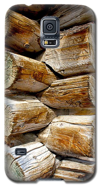 Log Cabin Corner Galaxy S5 Case