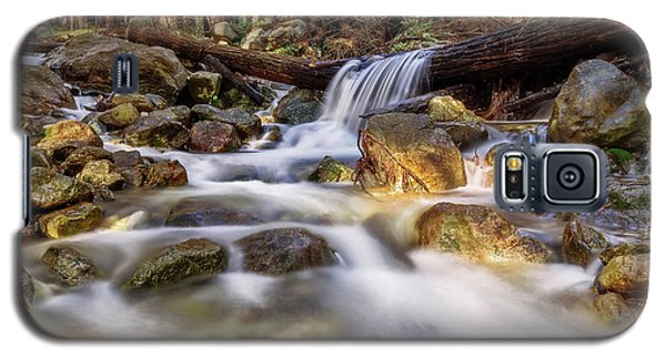 Log Falls On Limekiln Creek Galaxy S5 Case