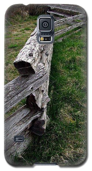 Log Fence Galaxy S5 Case