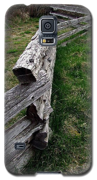 Log Fence Galaxy S5 Case