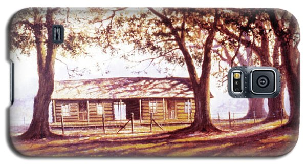 Log House On 421 Galaxy S5 Case