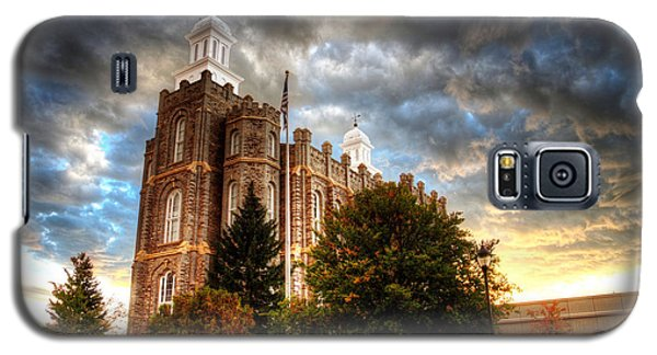 Logan Temple Cloud Backdrop Galaxy S5 Case