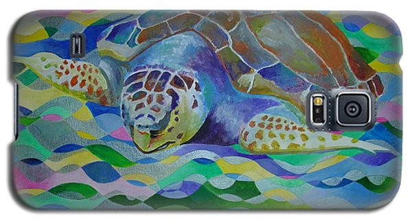 Loggerhead Turtle Galaxy S5 Case
