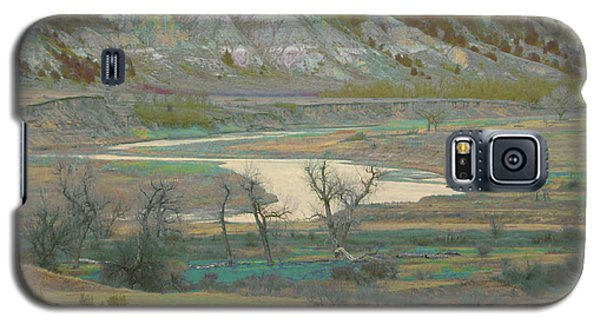 Logging Camp River Reverie Galaxy S5 Case