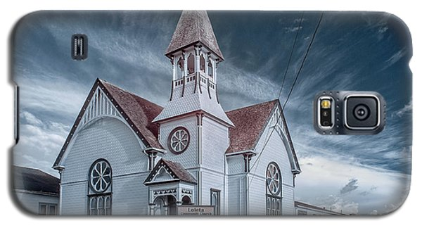 Galaxy S5 Case featuring the photograph Loleta Church by Greg Nyquist