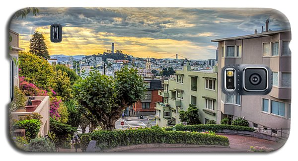 Lombard Street In San Francisco Galaxy S5 Case