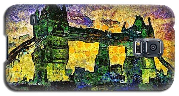 Galaxy S5 Case featuring the digital art London Bridge by Ian Mitchell