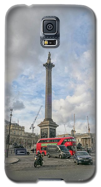 London Bus And Lord Nelson Galaxy S5 Case