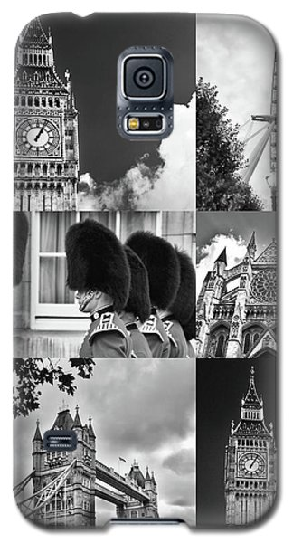 London Collage Bw Galaxy S5 Case