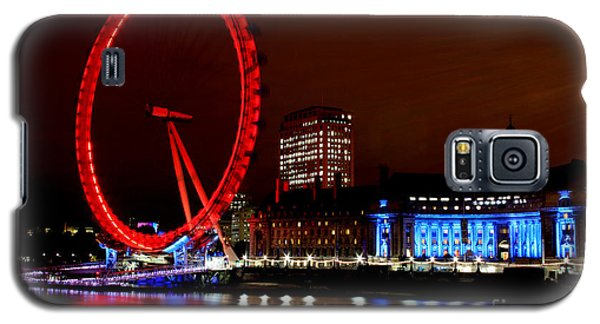 London Eye Galaxy S5 Case by Heather Applegate