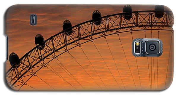 London Eye Sunset Galaxy S5 Case