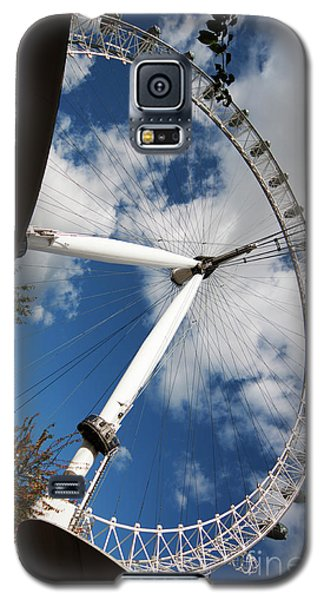 London Ferris Wheel Galaxy S5 Case
